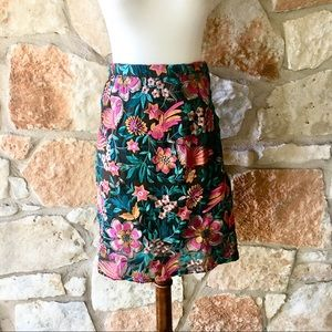Anthropologie Baraschi Embroidered Skirt